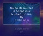 Using Resources Tutorial