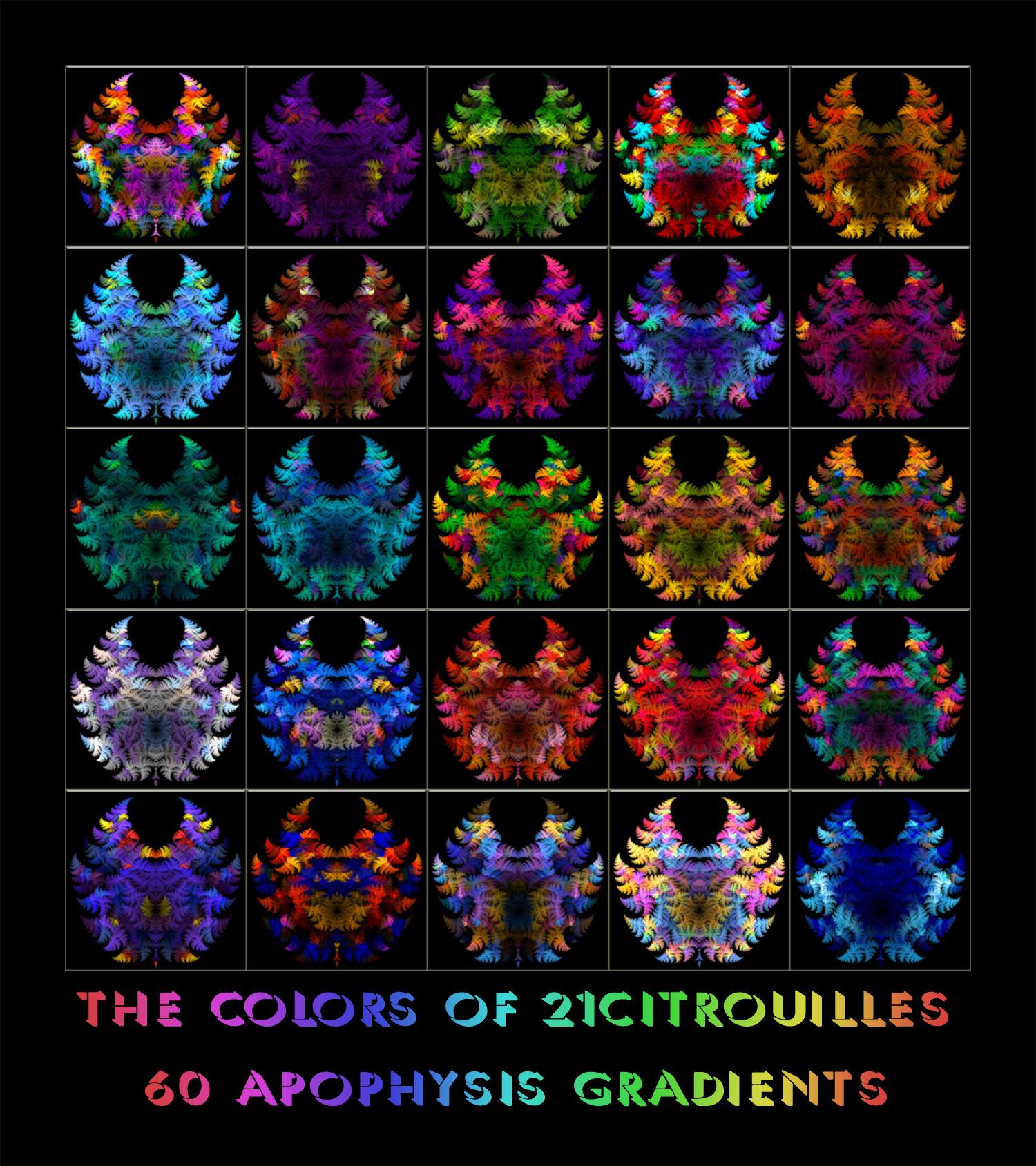 Colors of 21citrouilles Grads by Fractal-Resources