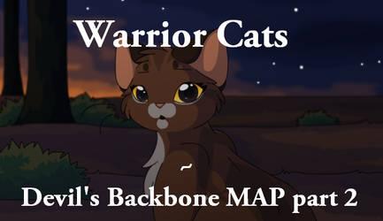 Warrior cats - Devil's Backbone MAP part 2