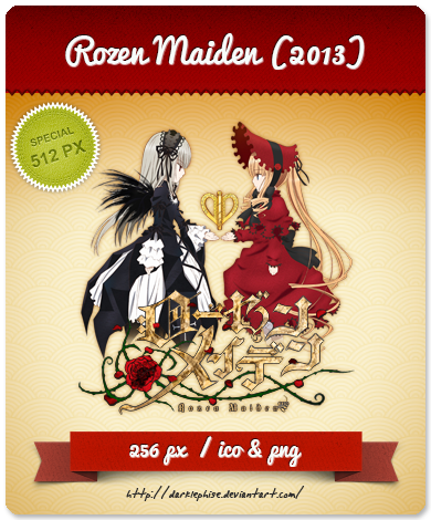 Rozen Maiden (2013) - Anime Icon by Darklephise