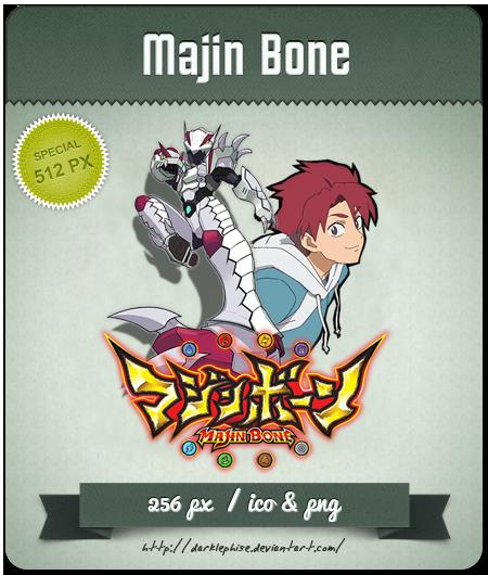 Majin Bone - Anime Icon by Darklephise