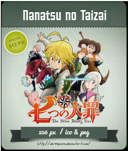 Nanatsu no Taizai - Anime Icon by Darklephise on DeviantArt