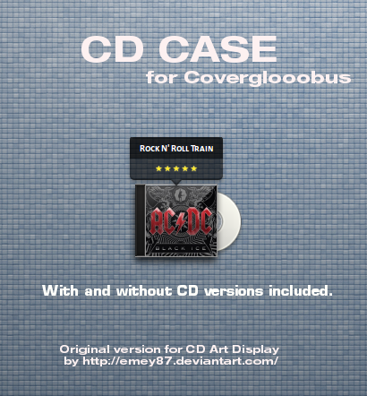 CD Case for Covergloobus by leonardomdq
