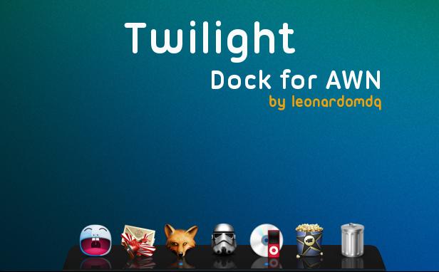 Twilight Dock for AWN by leonardomdq
