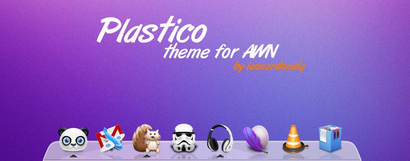 Plastico theme for AWN 0.4 by leonardomdq