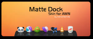 Matte Dock for AWN