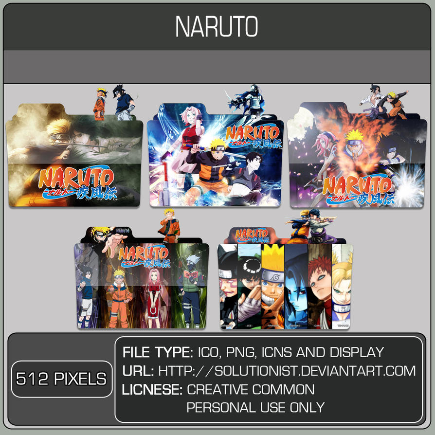 Naruto Pack by Solutionist