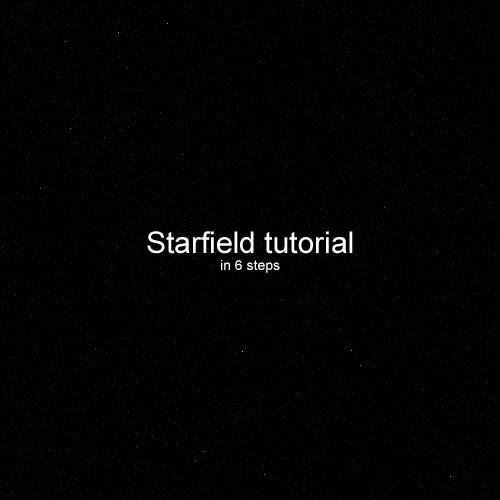 Starfield Tutorial by DKF