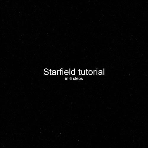 Starfield Tutorial by DKF