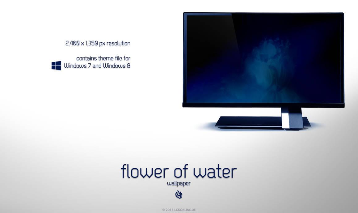 Flower of Water (Wallpaper) by lgkonline