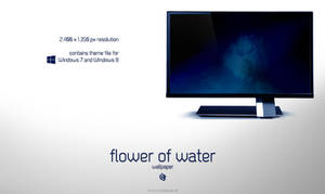 Flower of Water (Wallpaper)