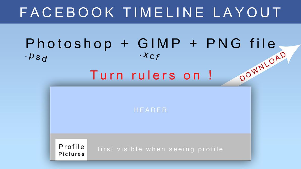 Facebook Timeline Header Layout by JonasForTheArt