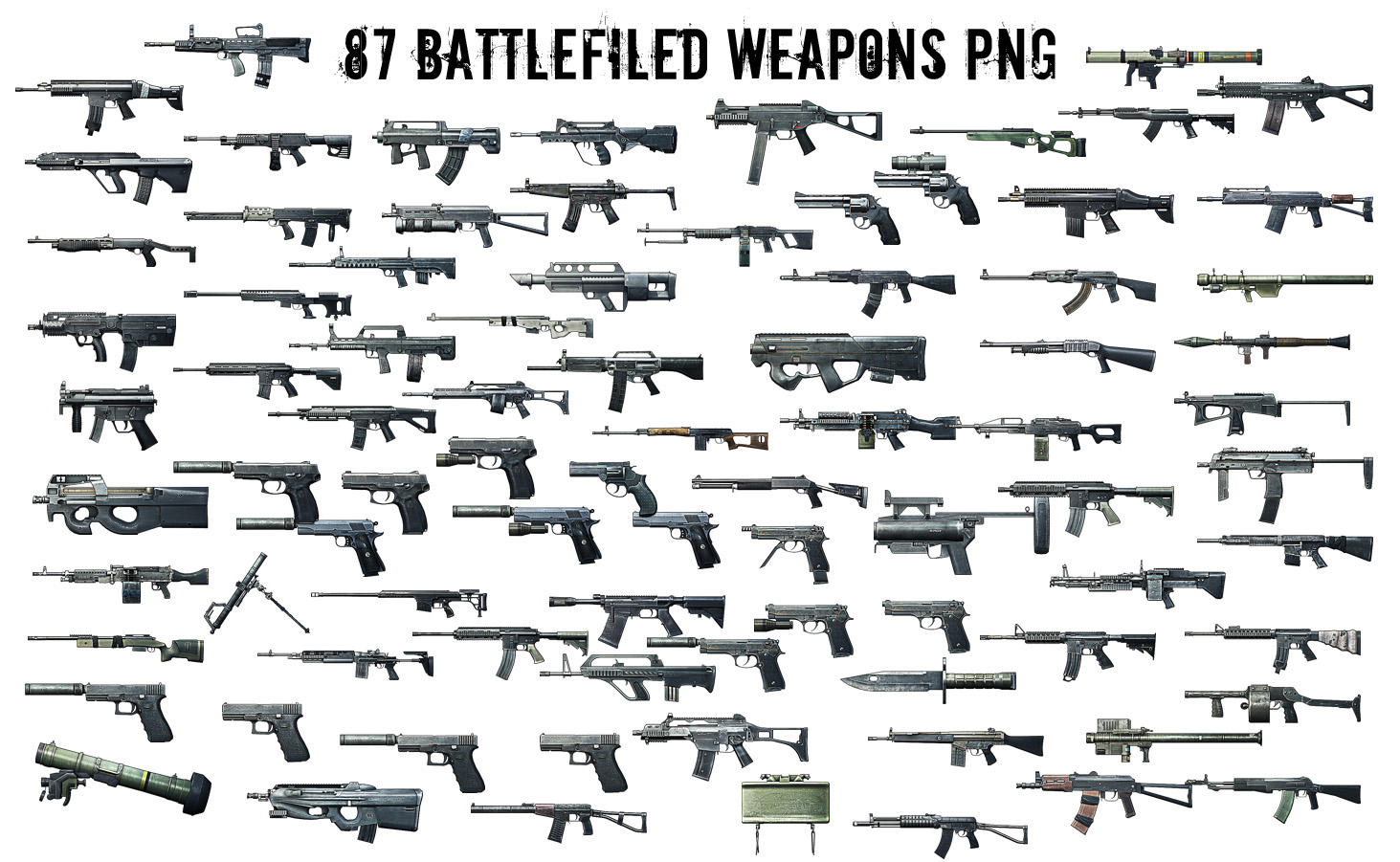 battlefield 3 weapons render png by jonasfortheart on deviantart