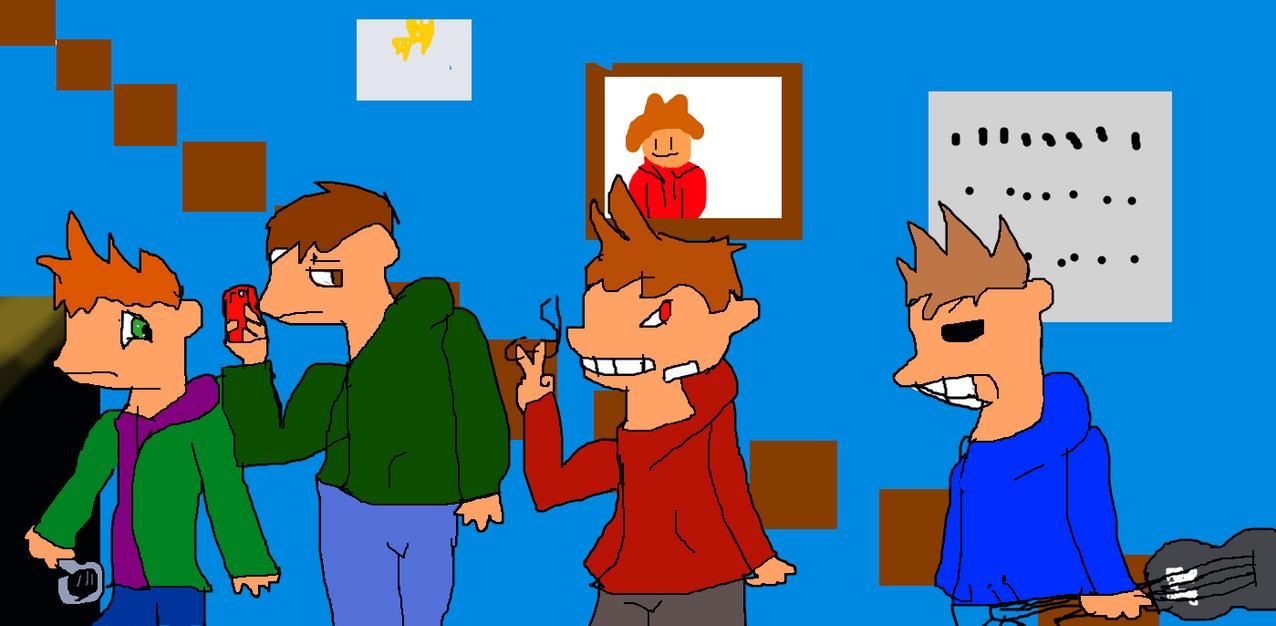 i try to draw edd'sworld by jenpom