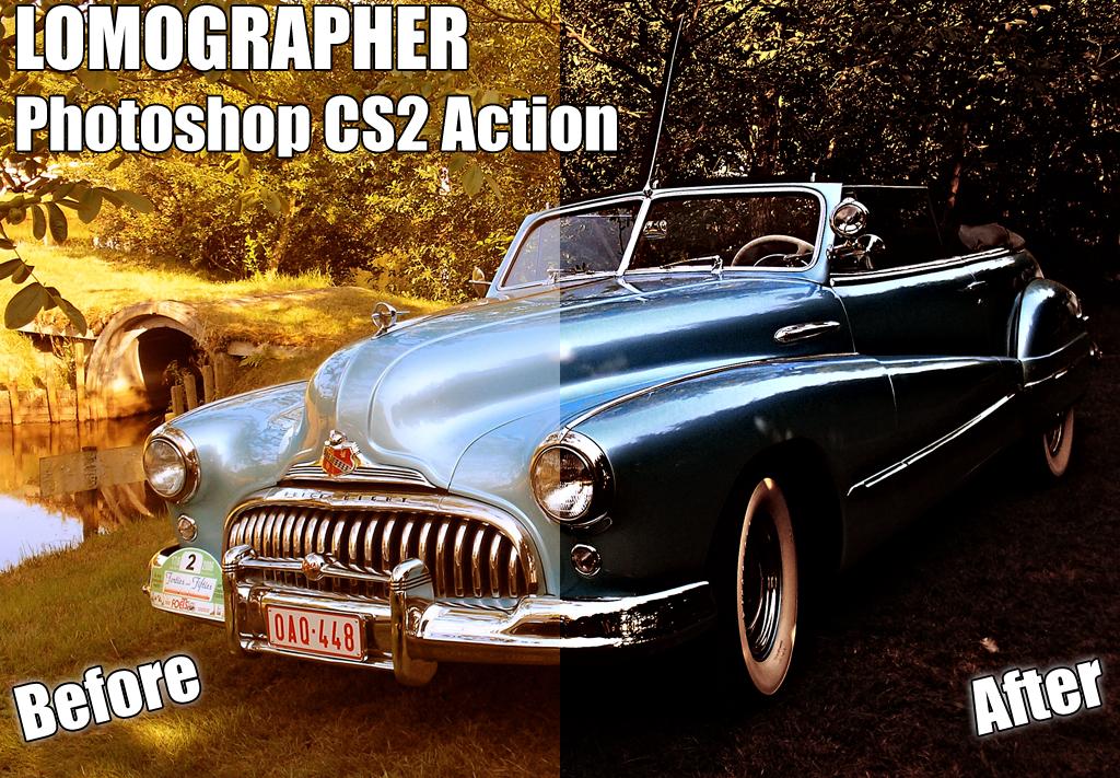 Lomographer for Photoshop CS2 by sparklehorse