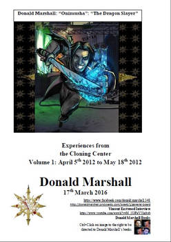 Donald Marshall. Volume 1. Experiences from the Cl