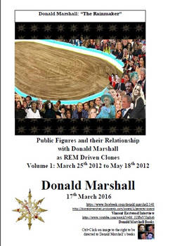 Donald Marshall. Volume 1. Public Figures and thei