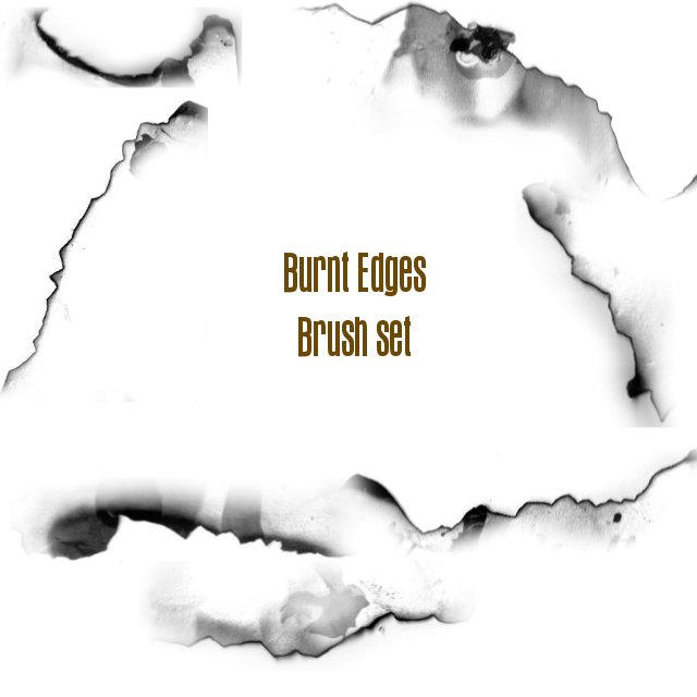 Burnt Edges brush set by Epic-phish