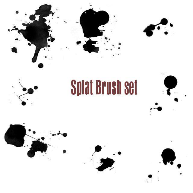 Splat brush set by Epic-phish