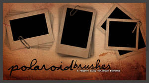 Polaroids .. Brush set 001