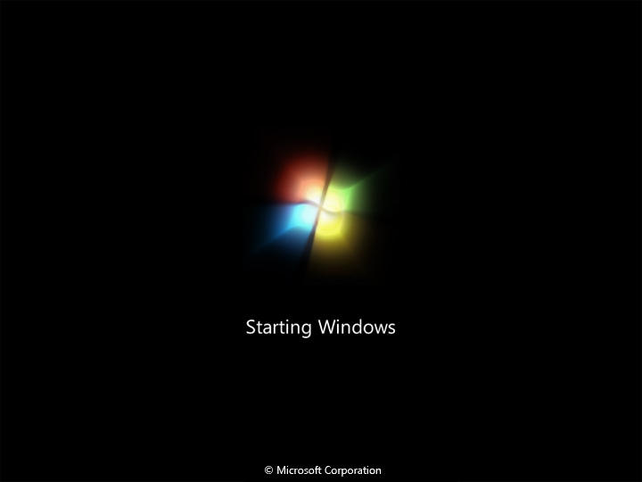 Windows 7 Boot Gif by saiseihogo