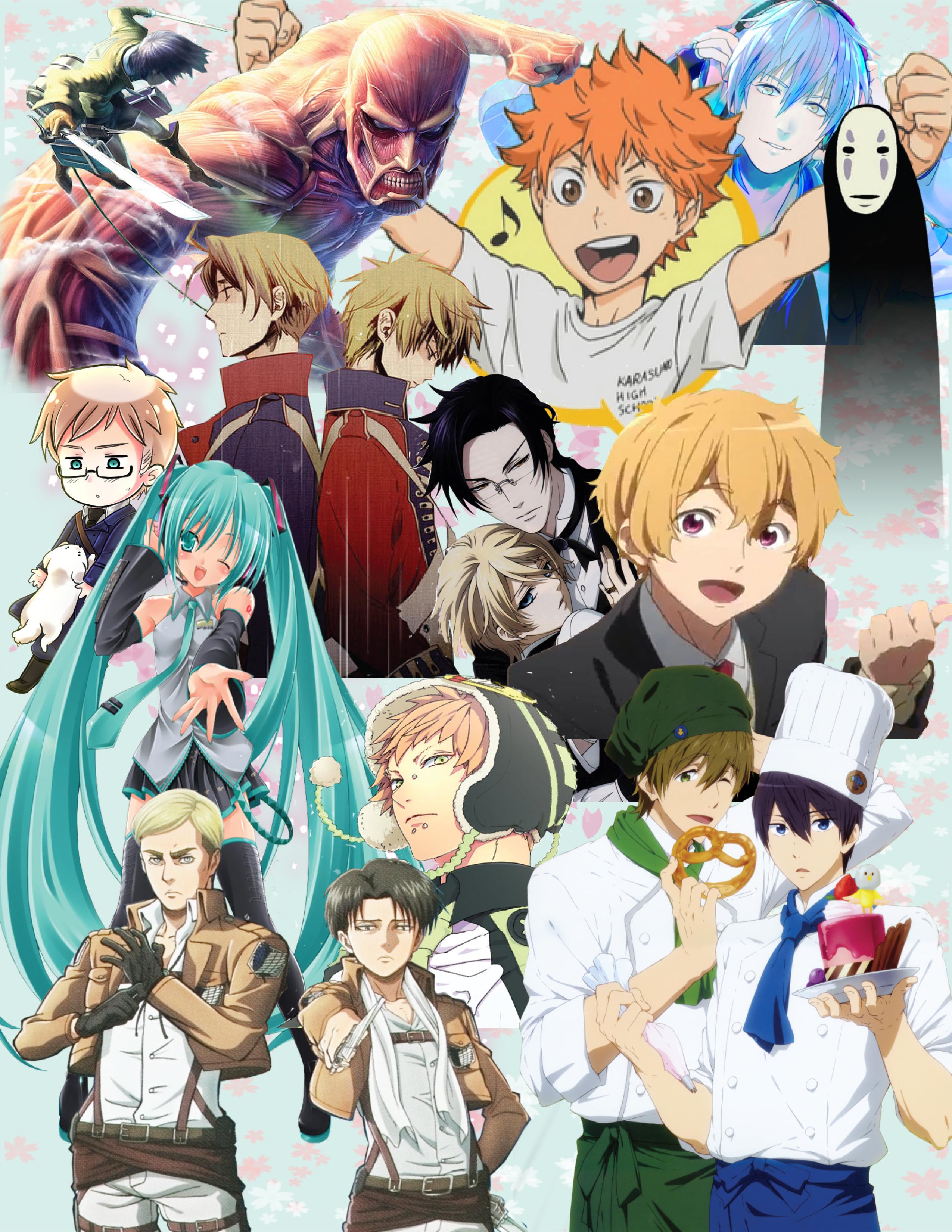 anime poster by epic nerd0102 on deviantart. Black Bedroom Furniture Sets. Home Design Ideas