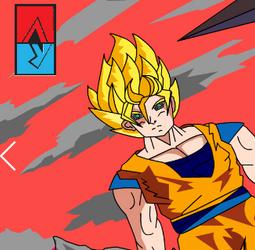 Anime-Goku-Vs-Estagirio-do-filme-!-2 by AllanYuna