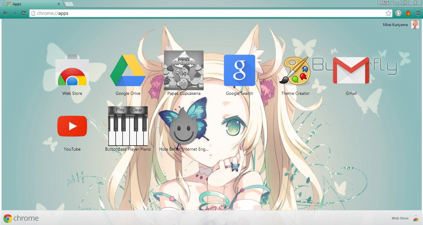 Google themes and creator