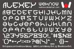 alexey font