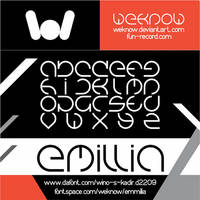 emmilia font by weknow by weknow