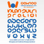 intan putri pratiwi font by weknow