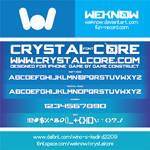crystalcorefont