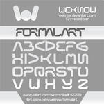 formal art font by weknow