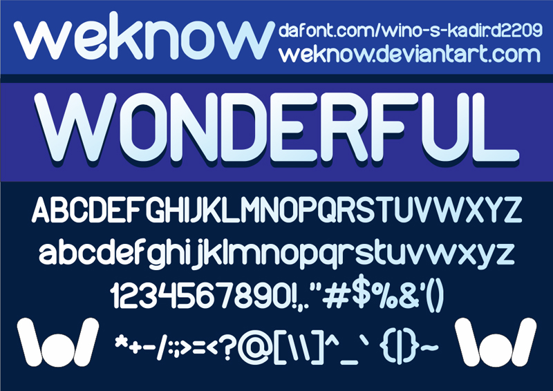 wonderfullfont