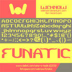 Funatic font by weknow