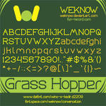 grasshopper font by weknow