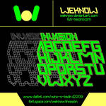 Invasion font  by weknow