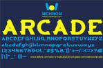 arcade font by weknow
