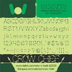 crowchief font by weknow