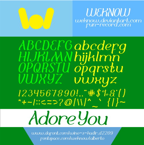 Adore You by weknow
