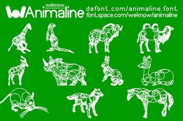 animaline dingbat font