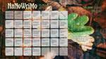 2016 NaNoWriMo Calendar