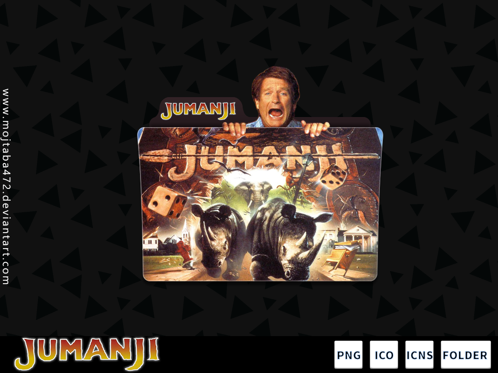 Jumanji (1995) V3 by mojtaba472 on DeviantArt