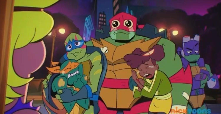 Rise of the TMNT: Warren and Hypno (Aftermath) by