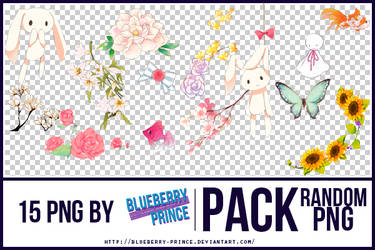 Pack Random PNG by Blueberry-Prince by Blueberry-Prince