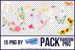 Pack Random PNG by Blueberry-Prince