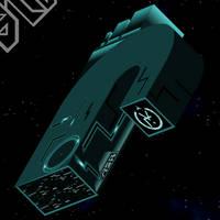 Mr Rex: 3D ASR Mothership by DynoStorm