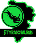 Jurassic Park Styracosaurus Paddock sign