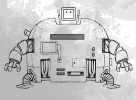 Robot 2 by mrbiagy