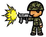 Soldado Atirando by mrbiagy